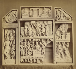 Buddhist sculpture pieces from Jamal-Garhi. 10031002